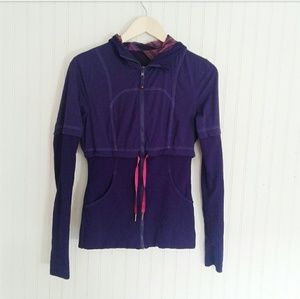 Lululemon Fitted Jacket With Hood